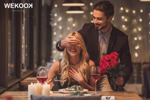 restaurante puede enamorar a sus clientes por San Valentín
