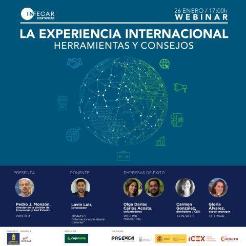 Webinar sobre internacionalizacion